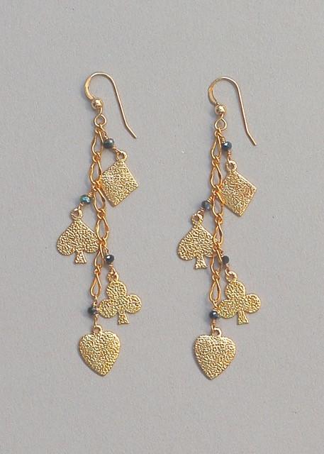 Blackjack Earrings