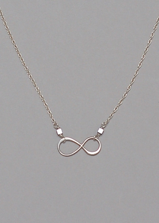 Infinity Necklace- Sterling