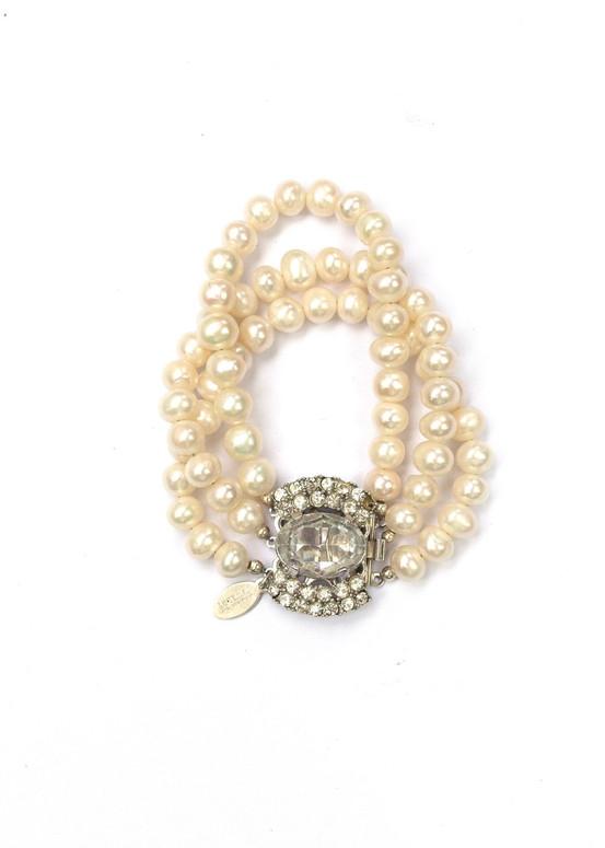 Elizabeth Pearl Bracelet