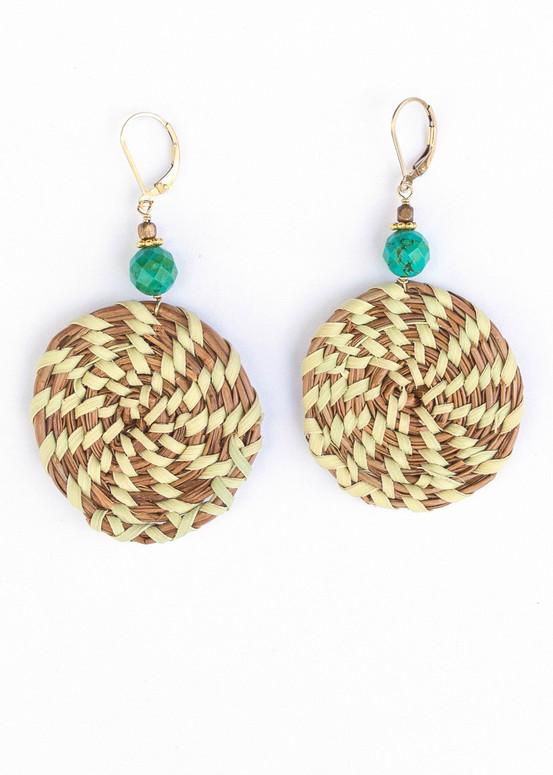 Sweetgrass Earrings - Jade