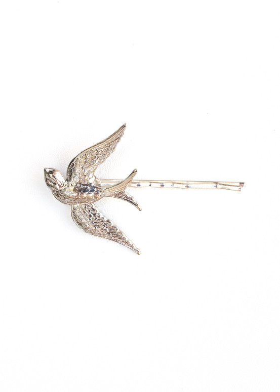 Sweetbird Hairpin- Silver