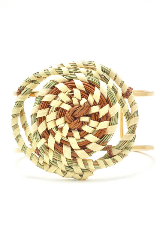 Twisted Sweetgrass Cuff
