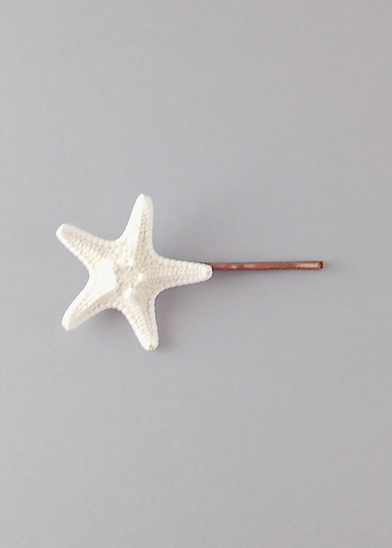Sweet Starfish Hairpin