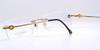 Designer Faberge Rimless Glasses Frames