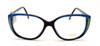 Lamy Myriam 4484 Black Frames with Blue detail