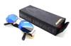 Alpina vintage eyewear in black / blue  finish