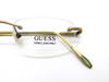 Rectangular rimless frames by Guess