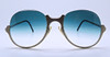 Blue Gradient Lenses On The Very Unique Sunglasses At www.eyehuggers.com