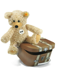 STEIFF Charly Dangling Teddy bear in Suitcase - 012938
