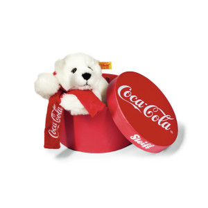 Steiff Coca Cola Bear in a Box