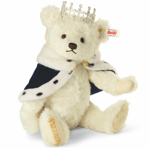 "Steiff ""Long to Reign Over Us"" Teddy Bear - 664779"