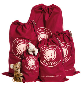 Charlie Bears Collectors Drawstring Gift Bags