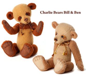 Charlie Bears Bill & Ben Set