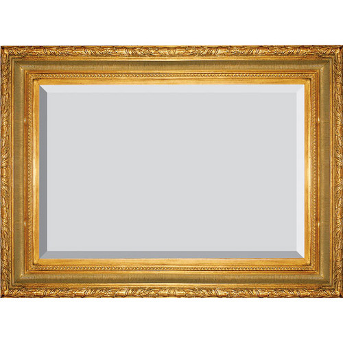Large Ribbed Foliate Frame 24X48 Antique Gold - World of Decor