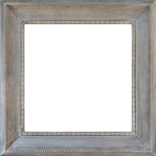 Seasoned Grand Frame 36X36 Beige Wash - World of Decor