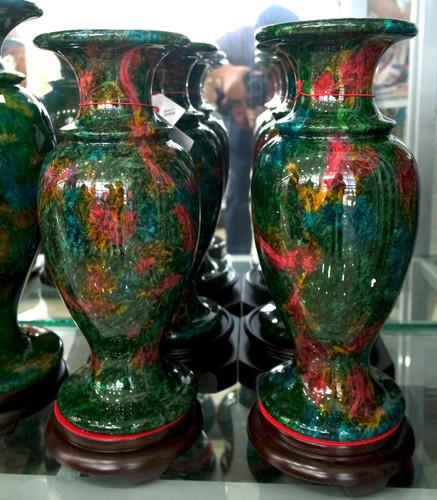Pr Jade Vases Multi Color World Of Decor