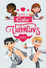 Have A Kickin Valentine's Day Free Month