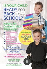 *NEW* Back to School Karate for Concentration V3