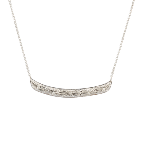 Corey Egan Silver and Diamond Necklace
