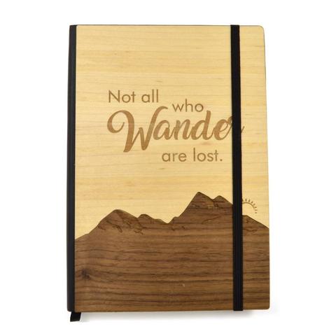 Wooden Adventure Notebook