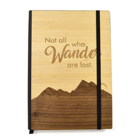 Wooden Adventure Notebook