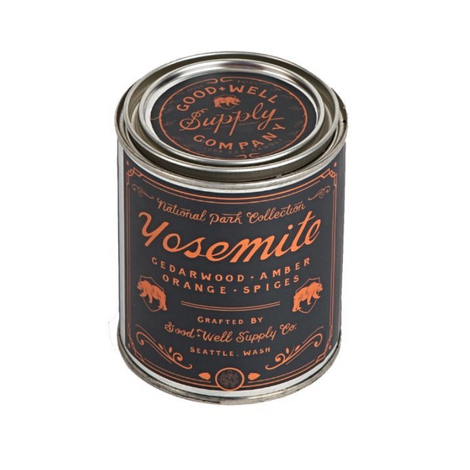 Natural smelling candle