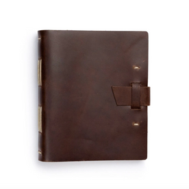 Dark Brown Handmade Journal