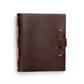 Dark Brown Handmade Journal