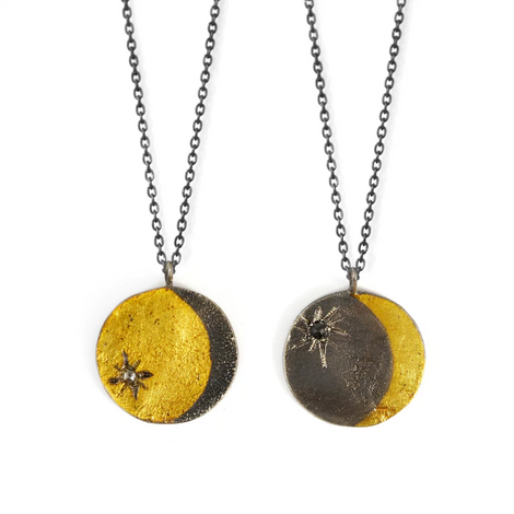 Fine Jewelry Moon Necklace