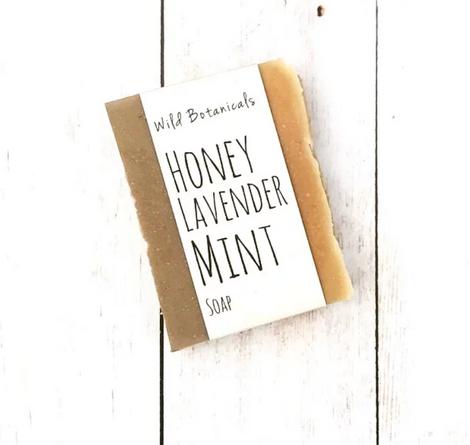 Honey, Lavender, Mint Soap