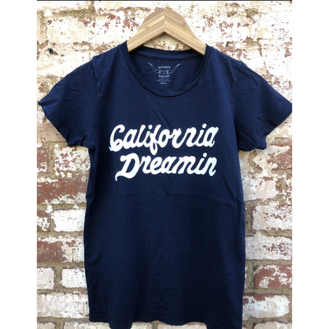 California Love Distressed Tee