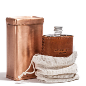 Cologne with Leather Sleeve