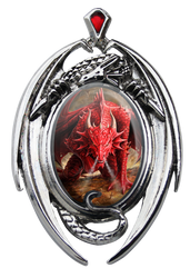 Eastgate Resource Dragons Lair Cameo Pendant
