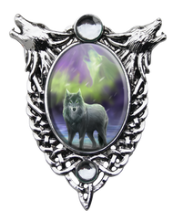 Eastgate Resource Aura Wolf Cameo Pendant