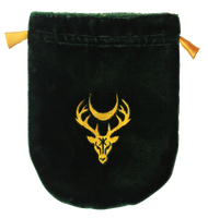 Eastgate Resource Green Velvet Moon Stag Tarot Bag