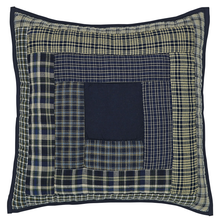 "Quilted Pillow - Columbus - 16""x16"" - VHC"