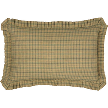 Plaid Pillow - Tea Star - 14x22 - VHC