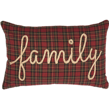 Family Pillow - Tea Star - 14x22 - VHC