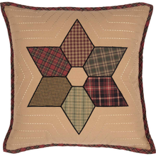 Patchwork Pillow - Tea Star - 18x18 - VHC