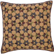 Quilted Euro Sham - Tea Star - 26x26 - VHC