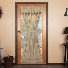 Door Panel w/Attached Valance - Abilene Star- 72x40- VHC