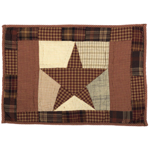 Quilted Placemats (Set of 6) - Abilene Star- 12x18- VHC