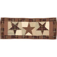 Quilted Table Runner - Abilene Star- 13x36 - VHC