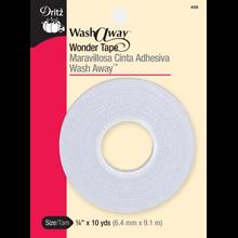 """1/4"""" Wash-A-Way Wonder Tape"""