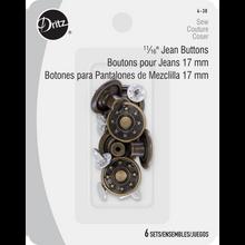 Antique Jean Buttons