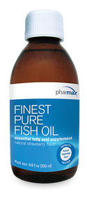 Finest Pure Fish Oil by Pharmax Strawberry Flavor 6.8oz. (200 ml)