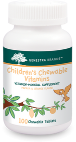 Children's Chewable Vitamins - 100 Tabs By Genestra Brands