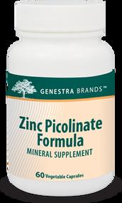 Zinc Picolinate Formula - 60 Capsules By Genestra Brands