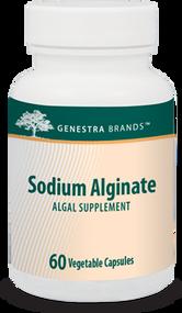 Sodium Alginate - 60 Capsules By Genestra Brands