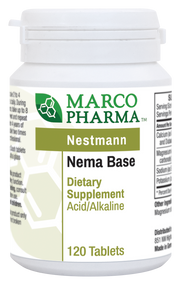 Nema Base (Acid/Alkaline) by Marco Pharma 120 Tablets